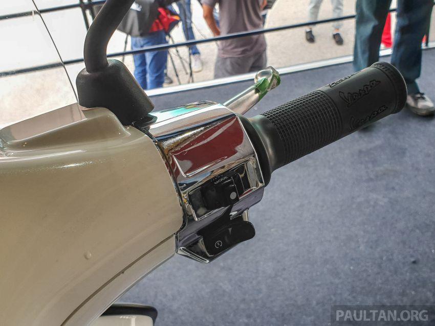 Vespa Sprint dan GTS Racing Sixties tiba di Malaysia – gaya inspirasi perlumbaan, harga RM19k dan RM31k Image #1144459