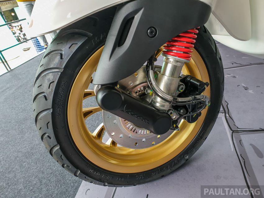 Vespa Sprint dan GTS Racing Sixties tiba di Malaysia – gaya inspirasi perlumbaan, harga RM19k dan RM31k Image #1144454