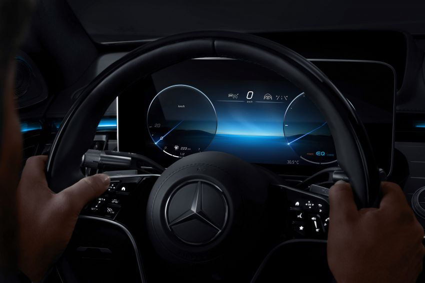 W223 Mercedes-Benz S-Class' new MBUX detailed – 12.8-inch touchscreen, AR HUD, Interior Assist Image #1143306