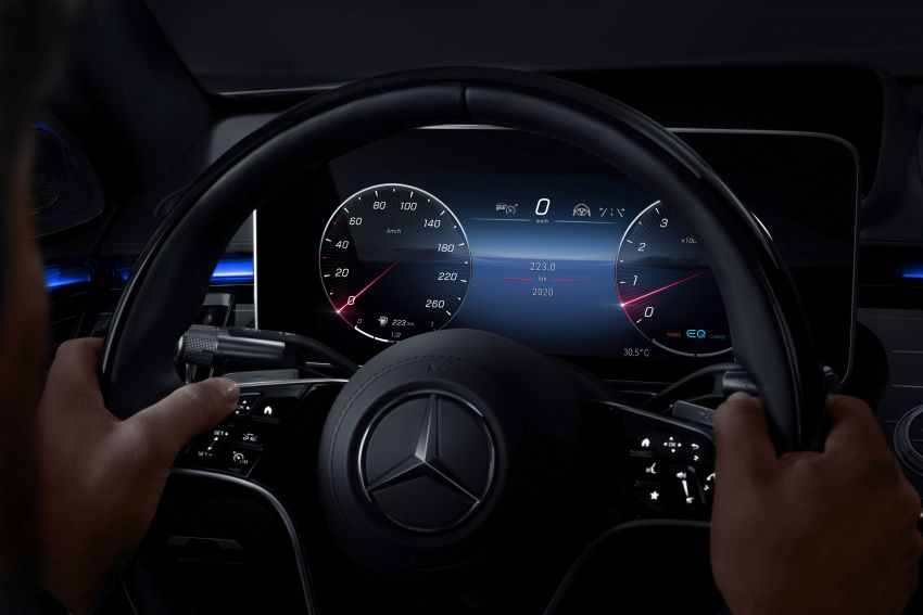 W223 Mercedes-Benz S-Class' new MBUX detailed – 12.8-inch touchscreen, AR HUD, Interior Assist Image #1143309