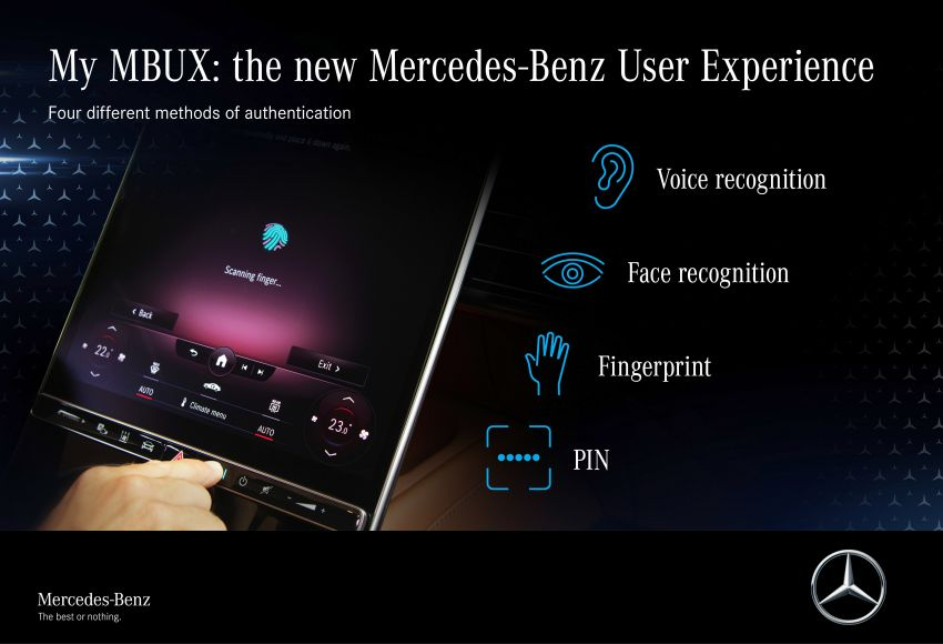 W223 Mercedes-Benz S-Class' new MBUX detailed – 12.8-inch touchscreen, AR HUD, Interior Assist Image #1143318
