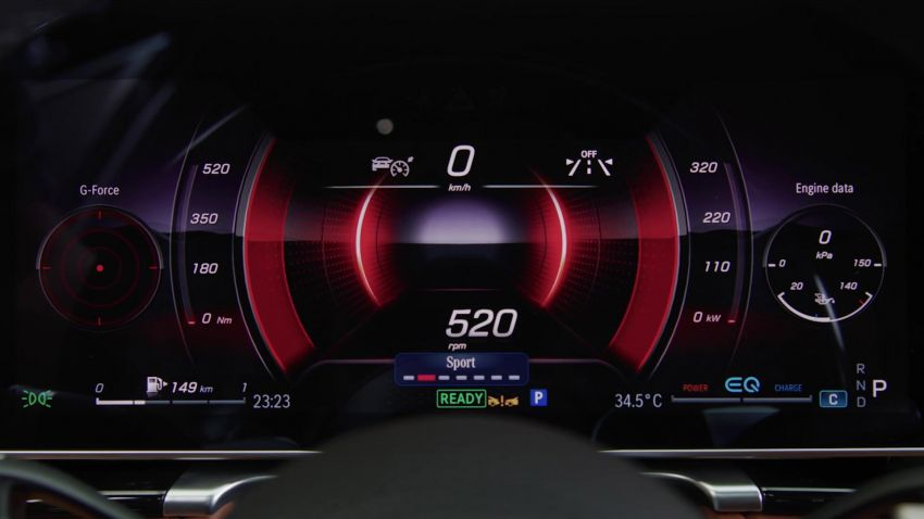 W223 Mercedes-Benz S-Class' new MBUX detailed – 12.8-inch touchscreen, AR HUD, Interior Assist Image #1143332