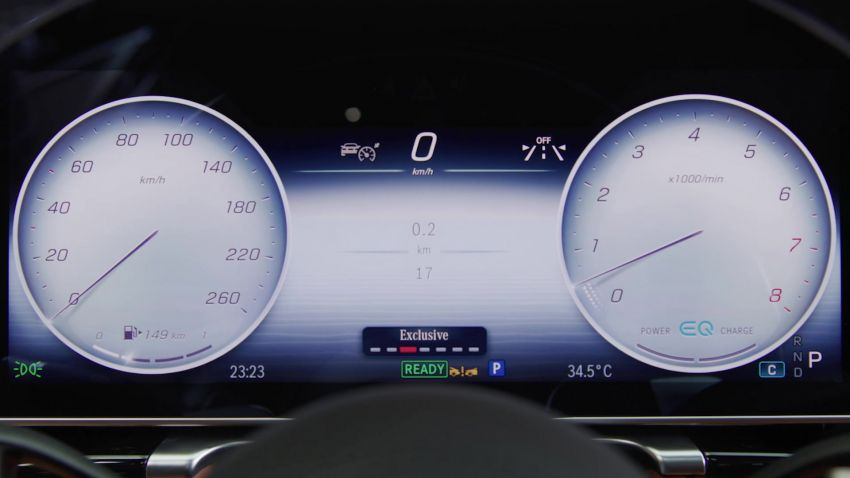 W223 Mercedes-Benz S-Class' new MBUX detailed – 12.8-inch touchscreen, AR HUD, Interior Assist Image #1143333