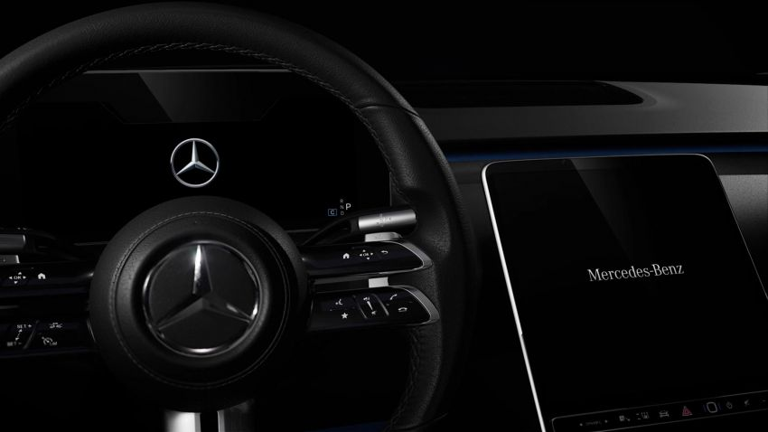 W223 Mercedes-Benz S-Class' new MBUX detailed – 12.8-inch touchscreen, AR HUD, Interior Assist Image #1143355