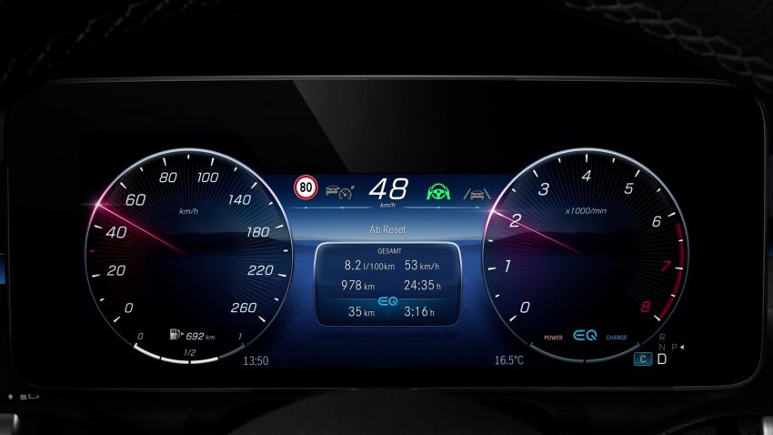 W223 Mercedes-Benz S-Class' new MBUX detailed – 12.8-inch touchscreen, AR HUD, Interior Assist Image #1143363