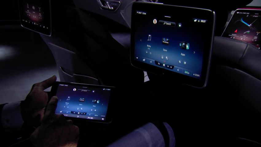 W223 Mercedes-Benz S-Class' new MBUX detailed – 12.8-inch touchscreen, AR HUD, Interior Assist Image #1143396