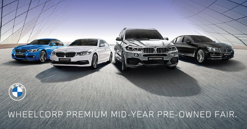 AD: Wheelcorp Premium Mid-Year Pre-Owned Fair – great deals on wide selection of BMW and MINI models Image #1146726