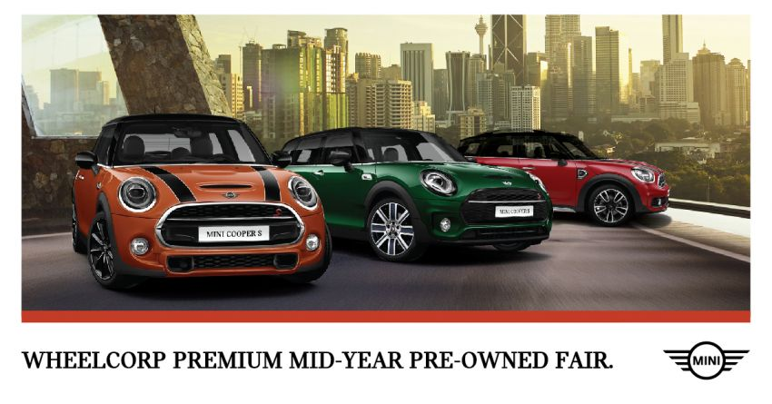 AD: Wheelcorp Premium Mid-Year Pre-Owned Fair – great deals on wide selection of BMW and MINI models Image #1146724