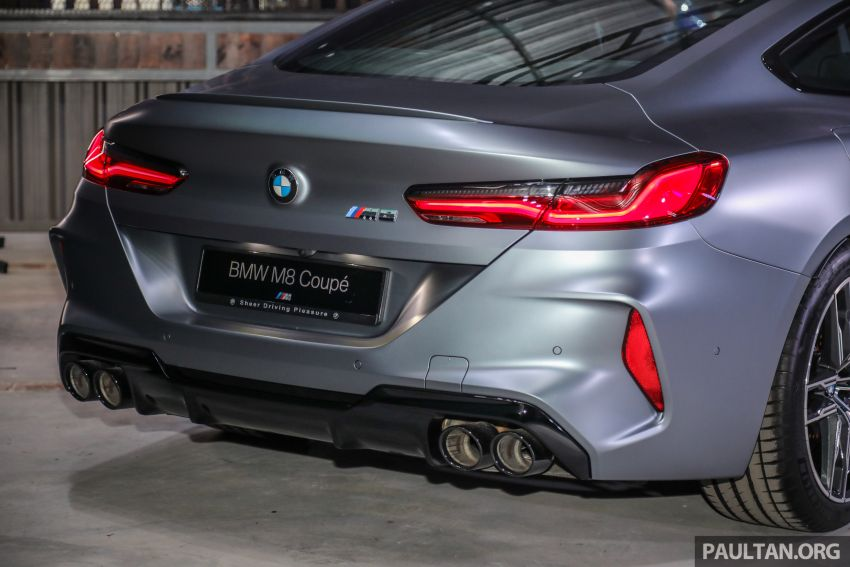 F92 BMW M8 Coupe, F93 M8 Gran Coupe launched in Malaysia – 600 hp and 750 Nm, priced from RM1.45 mil Image #1160973