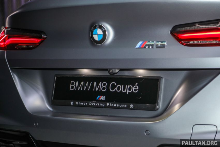 F92 BMW M8 Coupe, F93 M8 Gran Coupe launched in Malaysia – 600 hp and 750 Nm, priced from RM1.45 mil Image #1160978