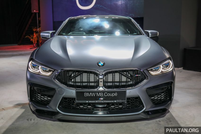 F92 BMW M8 Coupe, F93 M8 Gran Coupe launched in Malaysia – 600 hp and 750 Nm, priced from RM1.45 mil Image #1160954