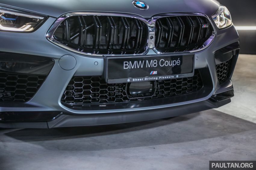 F92 BMW M8 Coupe, F93 M8 Gran Coupe launched in Malaysia – 600 hp and 750 Nm, priced from RM1.45 mil Image #1160960