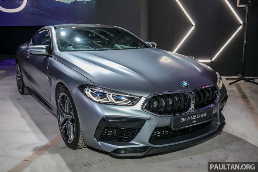 F92 BMW M8 Coupe, F93 M8 Gran Coupe launched in Malaysia – 600 hp and 750 Nm, priced from RM1.45 mil Image #1161298