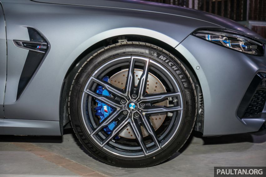 F92 BMW M8 Coupe, F93 M8 Gran Coupe launched in Malaysia – 600 hp and 750 Nm, priced from RM1.45 mil Image #1161334