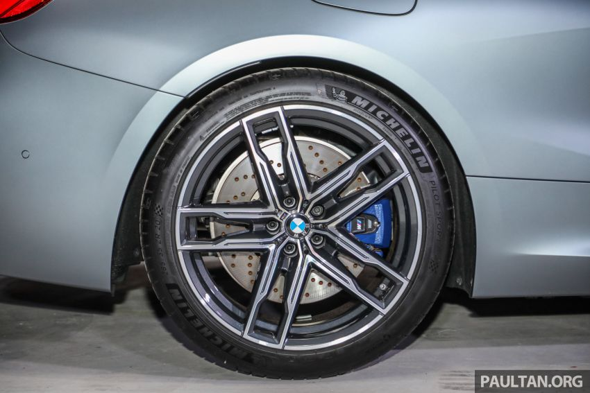 F92 BMW M8 Coupe, F93 M8 Gran Coupe launched in Malaysia – 600 hp and 750 Nm, priced from RM1.45 mil Image #1161336