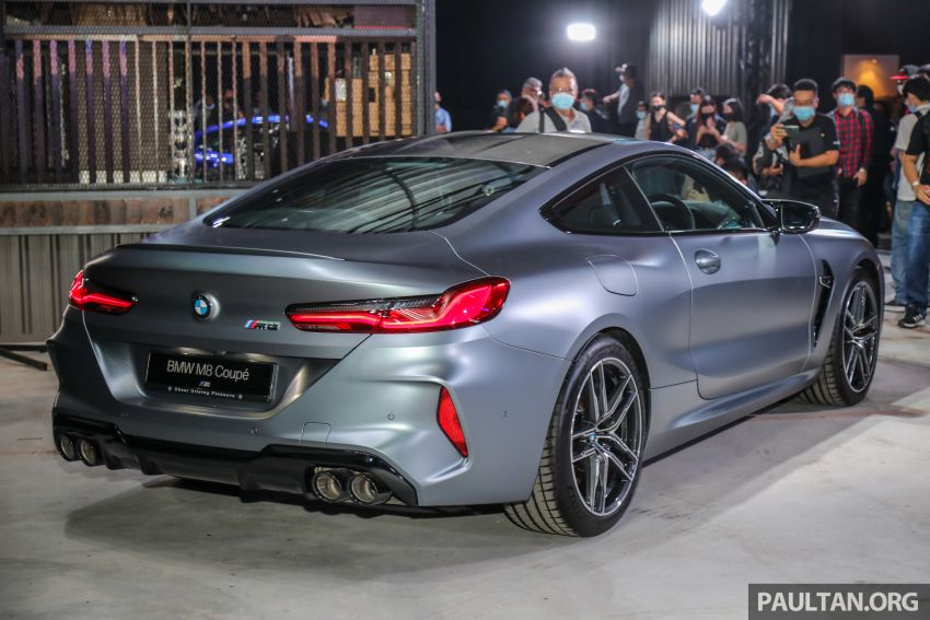 F92 BMW M8 Coupe, F93 M8 Gran Coupe launched in Malaysia – 600 hp and 750 Nm, priced from RM1.45 mil Image #1161305