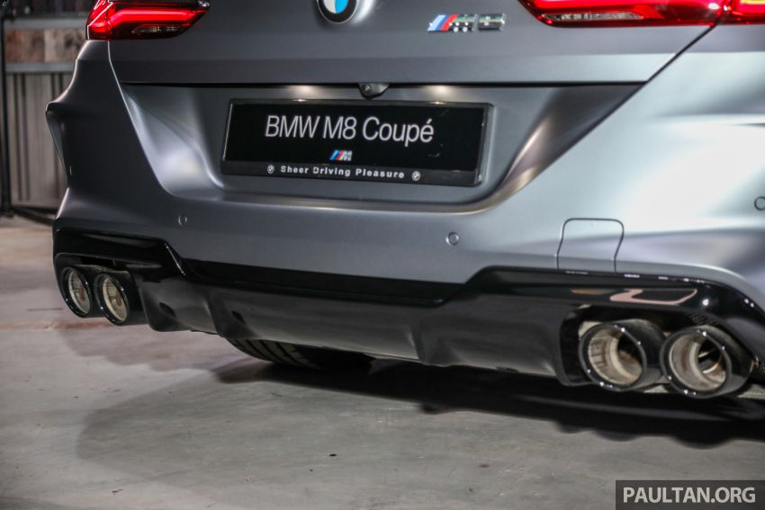 F92 BMW M8 Coupe, F93 M8 Gran Coupe launched in Malaysia – 600 hp and 750 Nm, priced from RM1.45 mil Image #1161344