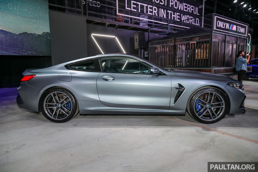 F92 BMW M8 Coupe, F93 M8 Gran Coupe launched in Malaysia – 600 hp and 750 Nm, priced from RM1.45 mil Image #1161308