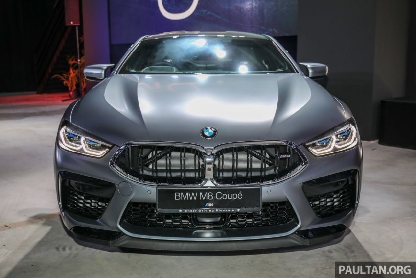 F92 BMW M8 Coupe, F93 M8 Gran Coupe launched in Malaysia – 600 hp and 750 Nm, priced from RM1.45 mil Image #1161309