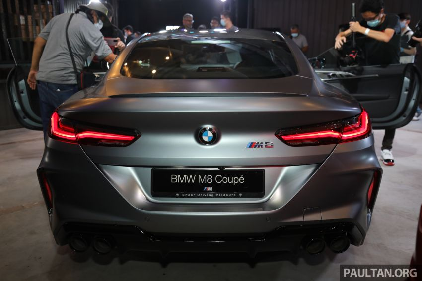 F92 BMW M8 Coupe, F93 M8 Gran Coupe launched in Malaysia – 600 hp and 750 Nm, priced from RM1.45 mil Image #1161310