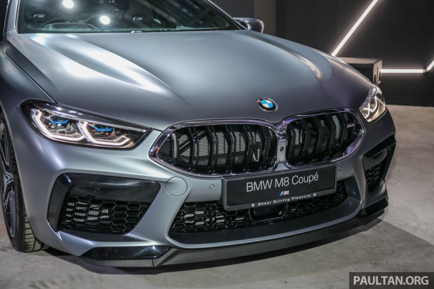 F92 BMW M8 Coupe, F93 M8 Gran Coupe launched in Malaysia – 600 hp and 750 Nm, priced from RM1.45 mil Image #1161314