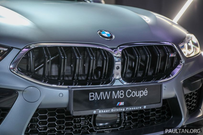 F92 BMW M8 Coupe, F93 M8 Gran Coupe launched in Malaysia – 600 hp and 750 Nm, priced from RM1.45 mil Image #1161318