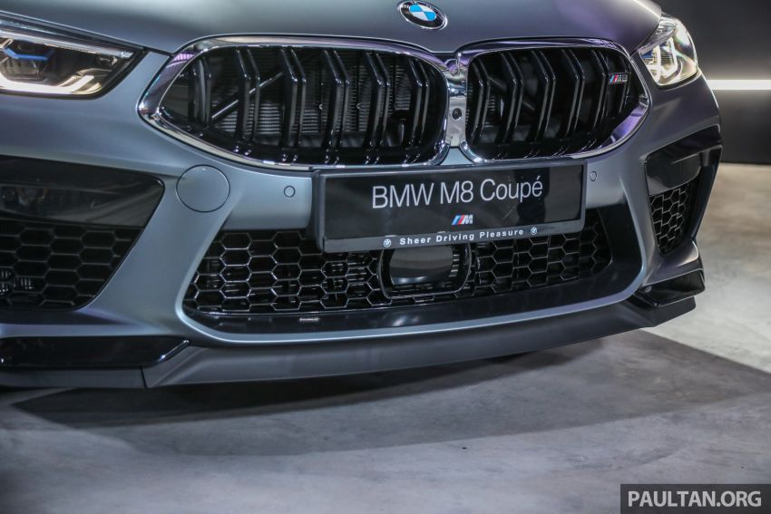F92 BMW M8 Coupe, F93 M8 Gran Coupe launched in Malaysia – 600 hp and 750 Nm, priced from RM1.45 mil Image #1161320