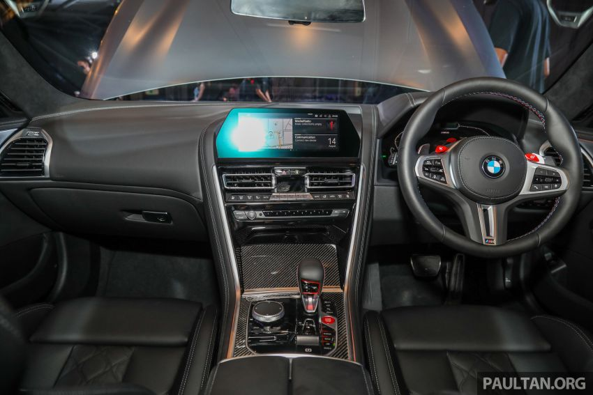 F92 BMW M8 Coupe, F93 M8 Gran Coupe launched in Malaysia – 600 hp and 750 Nm, priced from RM1.45 mil Image #1161350
