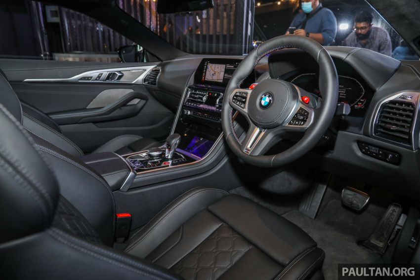 F92 BMW M8 Coupe, F93 M8 Gran Coupe launched in Malaysia – 600 hp and 750 Nm, priced from RM1.45 mil Image #1161351