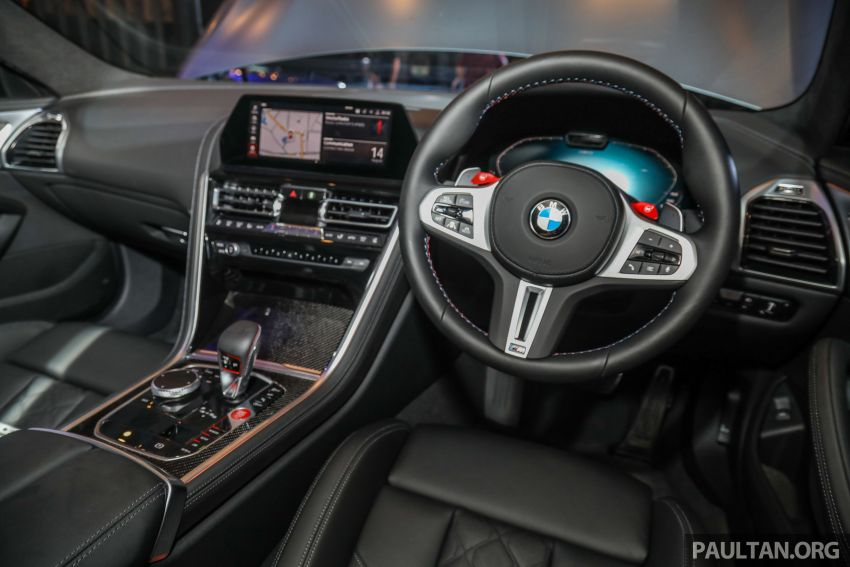 F92 BMW M8 Coupe, F93 M8 Gran Coupe launched in Malaysia – 600 hp and 750 Nm, priced from RM1.45 mil Image #1161371