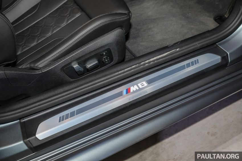 F92 BMW M8 Coupe, F93 M8 Gran Coupe launched in Malaysia – 600 hp and 750 Nm, priced from RM1.45 mil Image #1161378