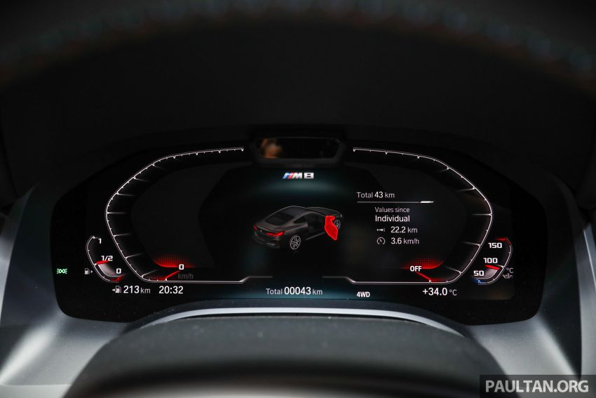 F92 BMW M8 Coupe, F93 M8 Gran Coupe launched in Malaysia – 600 hp and 750 Nm, priced from RM1.45 mil Image #1161352