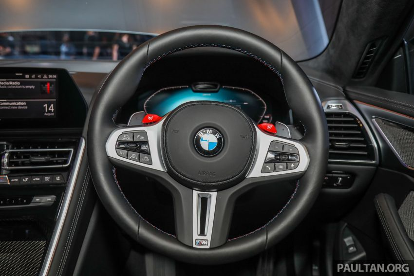 F92 BMW M8 Coupe, F93 M8 Gran Coupe launched in Malaysia – 600 hp and 750 Nm, priced from RM1.45 mil Image #1161353