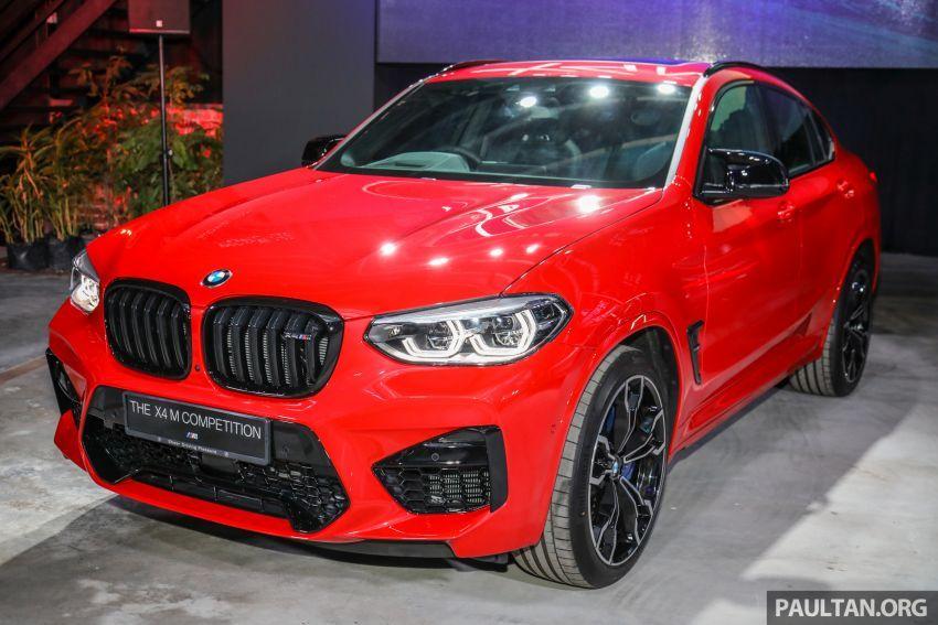 BMW X3  dan X4 M Competition 2020 dilancar di M'sia — 3.0L turbo, 510 hp / 600 Nm, harga dari RM887k Image #1160937