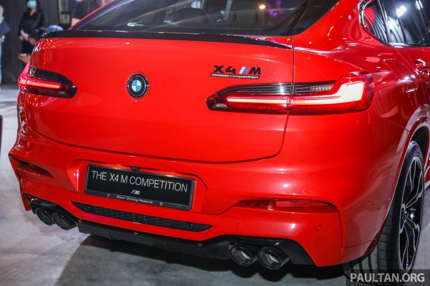 BMW X3  dan X4 M Competition 2020 dilancar di M'sia — 3.0L turbo, 510 hp / 600 Nm, harga dari RM887k Image #1161056