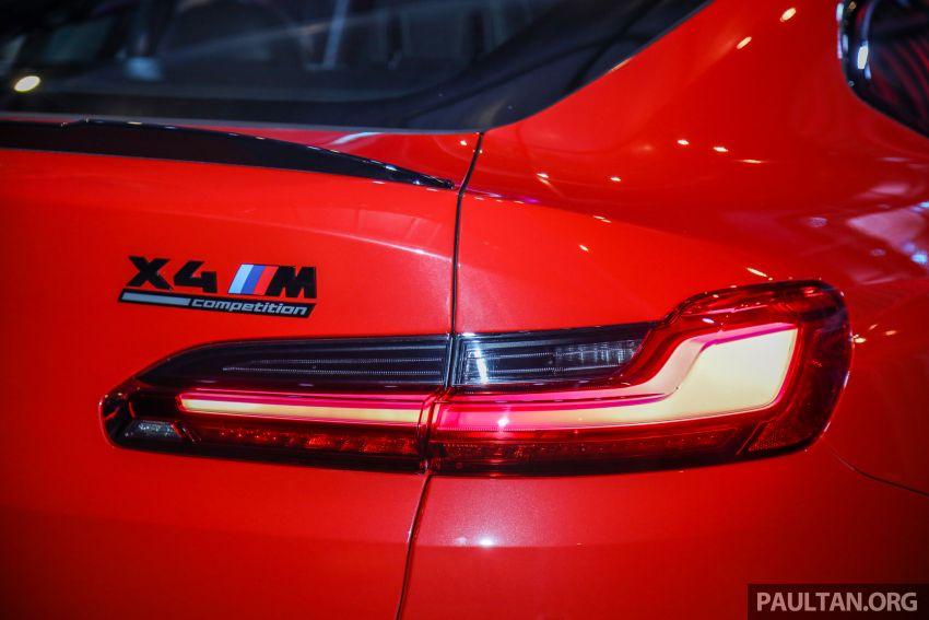 BMW X3  dan X4 M Competition 2020 dilancar di M'sia — 3.0L turbo, 510 hp / 600 Nm, harga dari RM887k Image #1161057