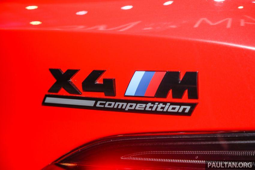 BMW X3  dan X4 M Competition 2020 dilancar di M'sia — 3.0L turbo, 510 hp / 600 Nm, harga dari RM887k Image #1161069