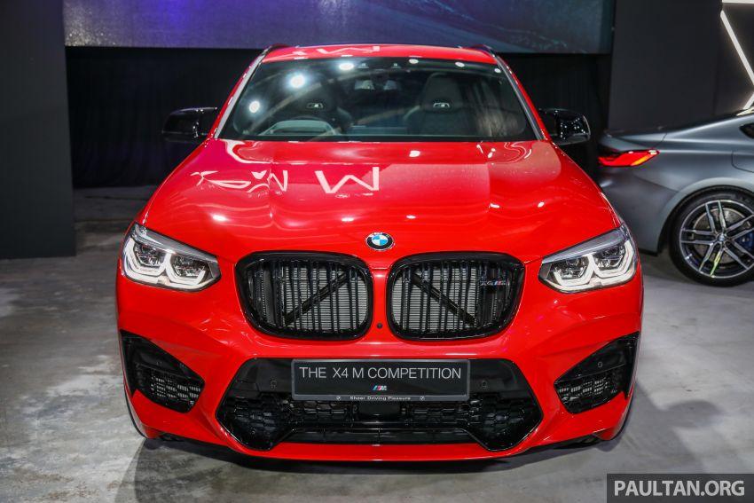 BMW X3  dan X4 M Competition 2020 dilancar di M'sia — 3.0L turbo, 510 hp / 600 Nm, harga dari RM887k Image #1161026