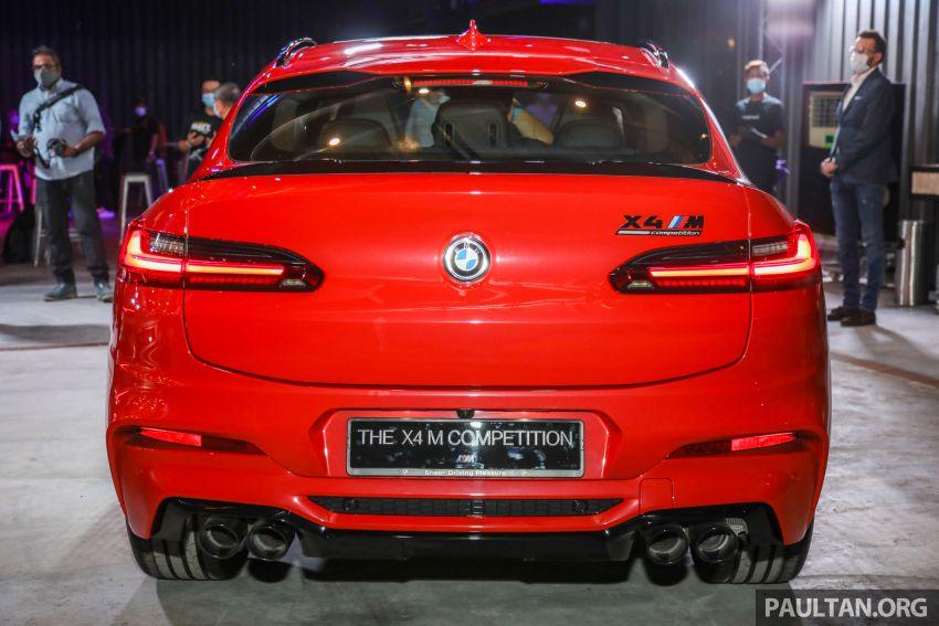 BMW X3  dan X4 M Competition 2020 dilancar di M'sia — 3.0L turbo, 510 hp / 600 Nm, harga dari RM887k Image #1161029