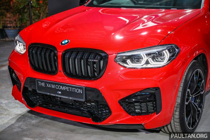 BMW X3  dan X4 M Competition 2020 dilancar di M'sia — 3.0L turbo, 510 hp / 600 Nm, harga dari RM887k Image #1161030