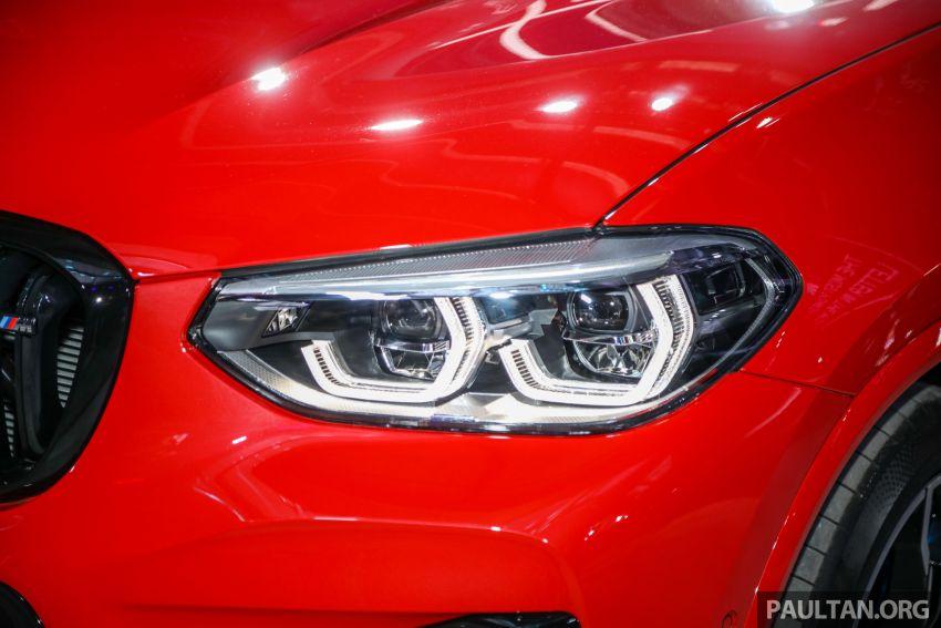 BMW X3  dan X4 M Competition 2020 dilancar di M'sia — 3.0L turbo, 510 hp / 600 Nm, harga dari RM887k Image #1161032