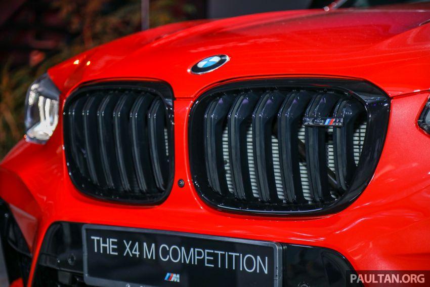 BMW X3  dan X4 M Competition 2020 dilancar di M'sia — 3.0L turbo, 510 hp / 600 Nm, harga dari RM887k Image #1161034