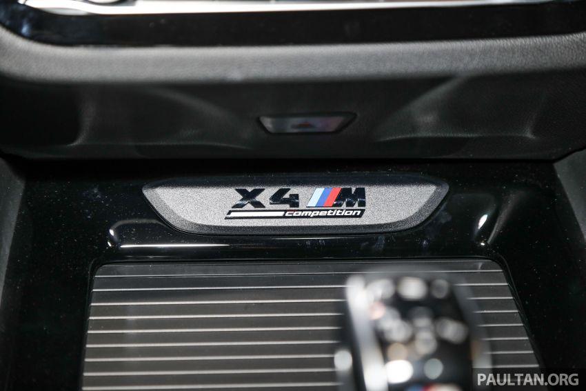 BMW X3  dan X4 M Competition 2020 dilancar di M'sia — 3.0L turbo, 510 hp / 600 Nm, harga dari RM887k Image #1161095