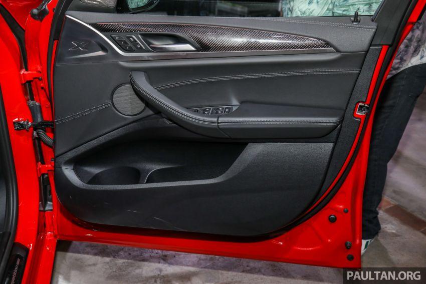 BMW X3  dan X4 M Competition 2020 dilancar di M'sia — 3.0L turbo, 510 hp / 600 Nm, harga dari RM887k Image #1161129