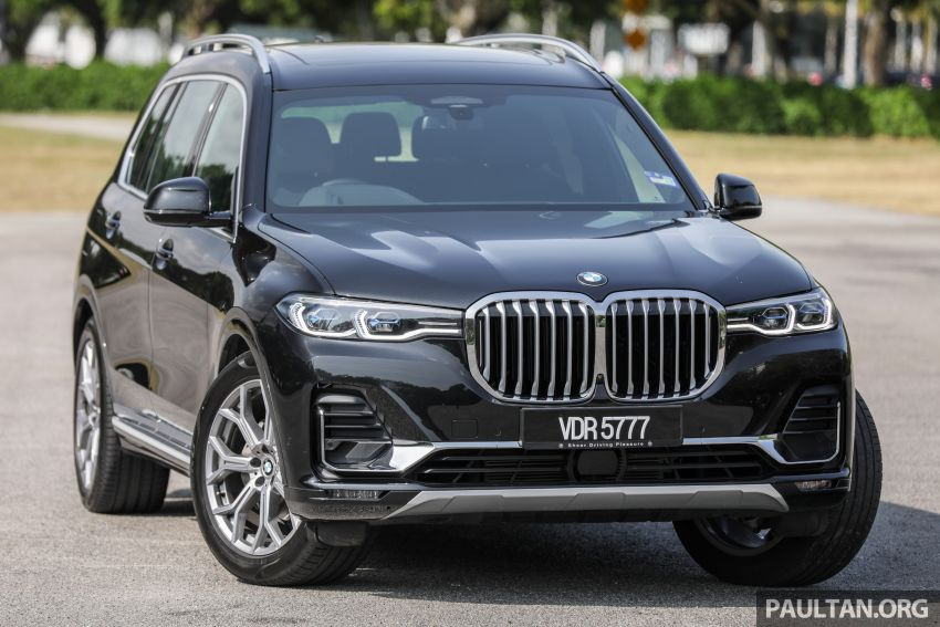 GALLERY: G07 BMW X7 xDrive40i Design Pure Excellence – the flagship X SUV model; from RM862k Image #1168433