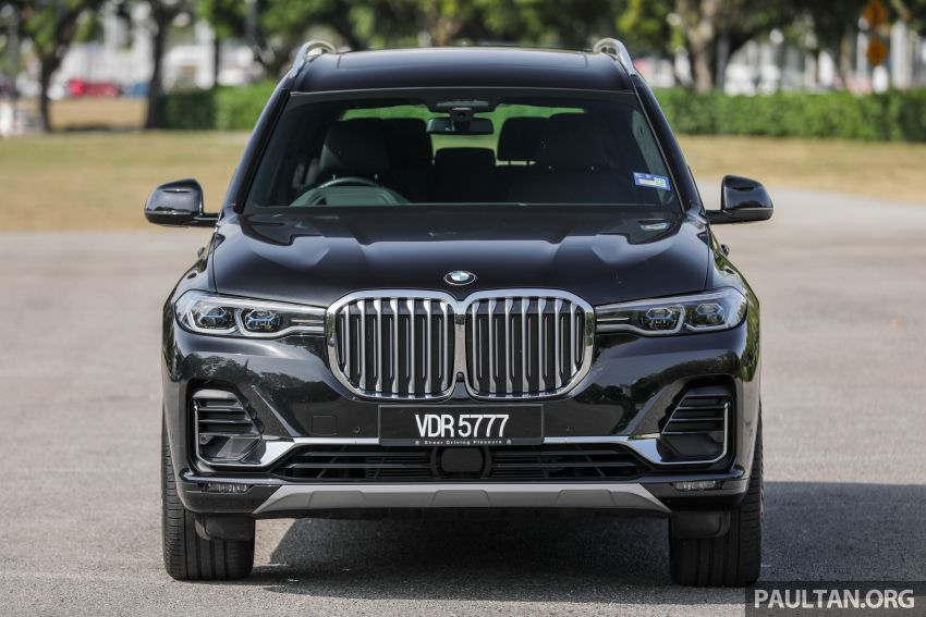 GALLERY: G07 BMW X7 xDrive40i Design Pure Excellence – the flagship X SUV model; from RM862k Image #1168443