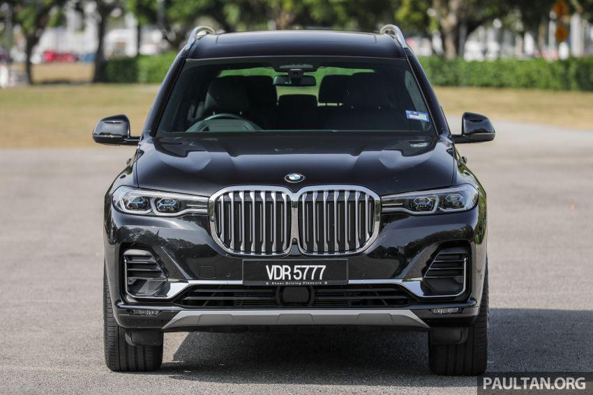 GALERI: BMW X7 xDrive40i G07 Design Pure Excellence — model SUV <em>flagship</em> besar, dari RM862k Image #1168806