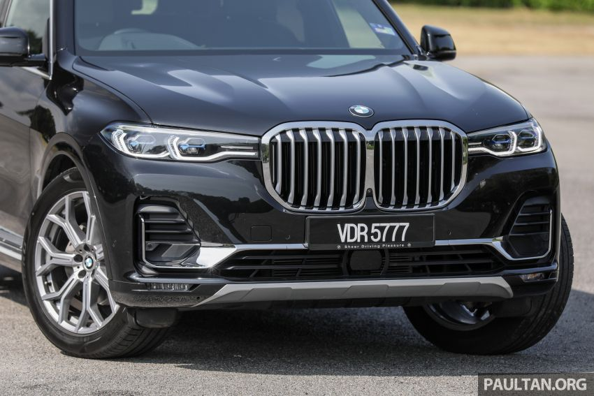 GALLERY: G07 BMW X7 xDrive40i Design Pure Excellence – the flagship X SUV model; from RM862k Image #1168447