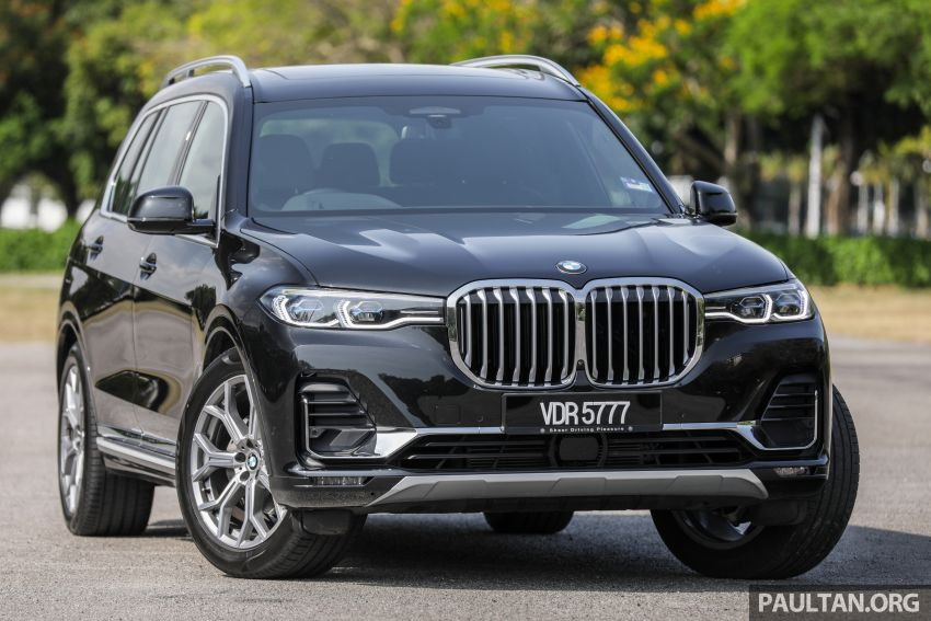 GALLERY: G07 BMW X7 xDrive40i Design Pure Excellence – the flagship X SUV model; from RM862k Image #1168434
