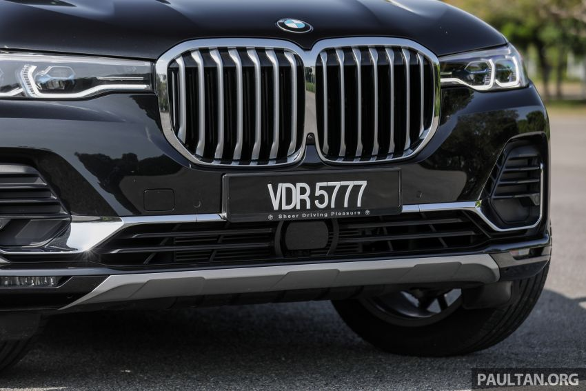 GALERI: BMW X7 xDrive40i G07 Design Pure Excellence — model SUV <em>flagship</em> besar, dari RM862k Image #1168815
